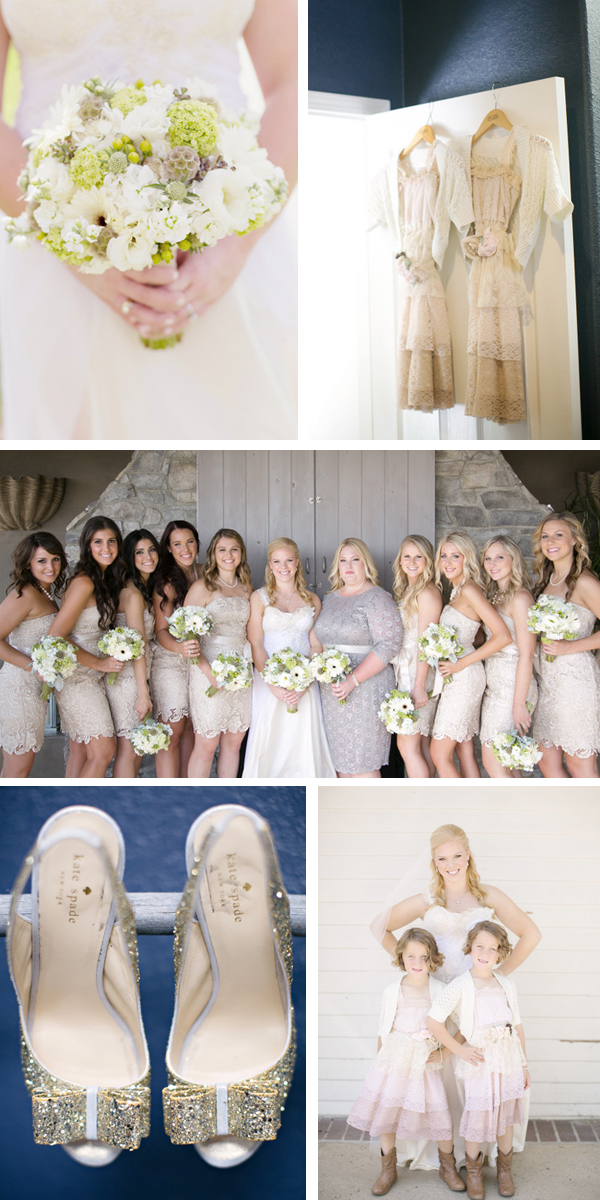 vintage country chic wedding from intertwined events | britt rene photo