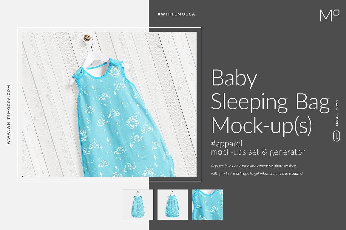Baby Sleeping Bag Mockups