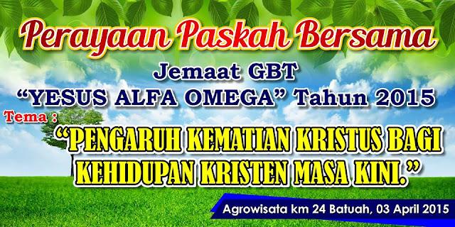 Contoh Banner Paskah Terbaru 2019 Mastimon Com