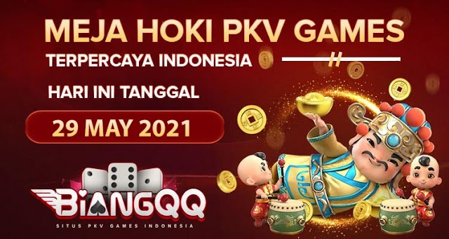 Berita Pkv Bocoran Meja Hoki Pkv Games BiangQQ Tanggal 29 May 2021