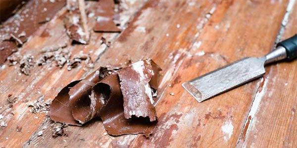 Cara Melunturkan Pelitur Atau Cat Pada kayu