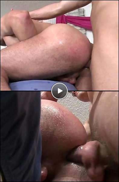 Gay ass gets pounded