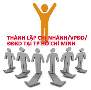 thành lập công ty tại Hồ chí Minh