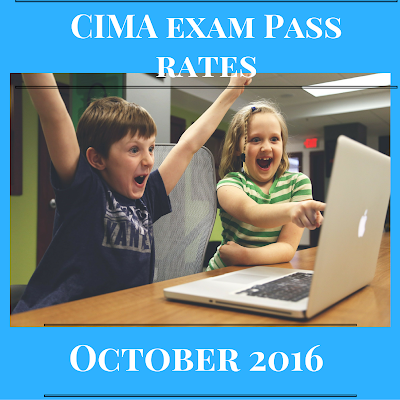 CIMA exam latest pass rates August 2016 - Case studies & Objective tests