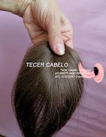 Tecer cabelo - próteses