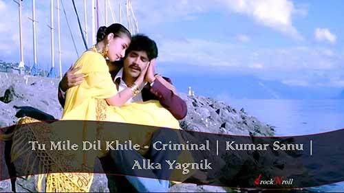 Tu-Mile-Dil-Khile-Criminal-Kumar-Sanu-Alka-Yagnik