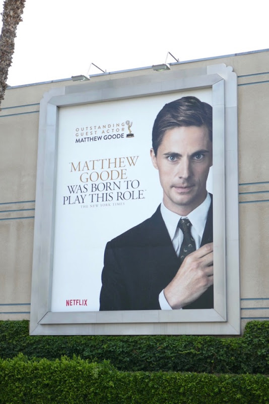 Matthew Goode Crown 2018 Emmy nominee billboard