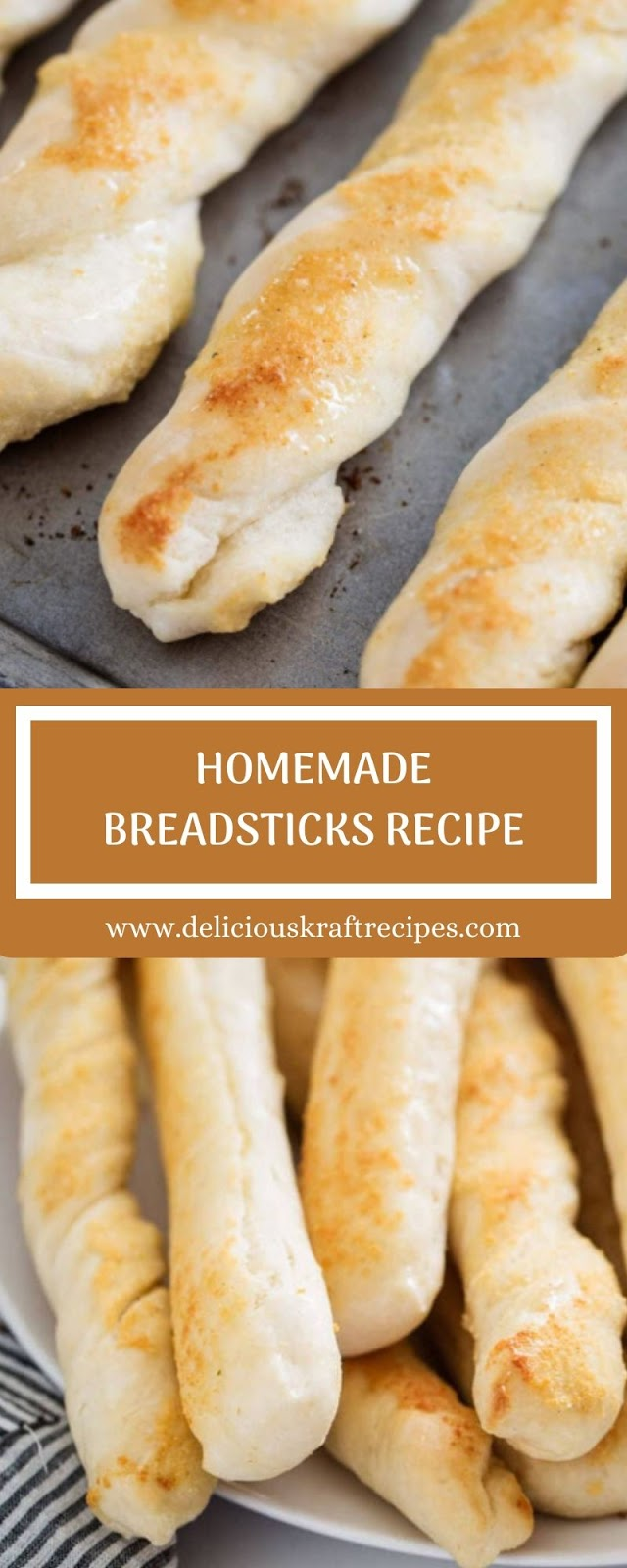 HOMEMADE BREADSTICKS RECIPE