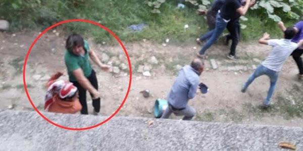 Άγρια επίθεση Τούρκων κατά Κούρδων εργατών - Χτύπησαν 14χρονο κορίτσι (Βίντεο)