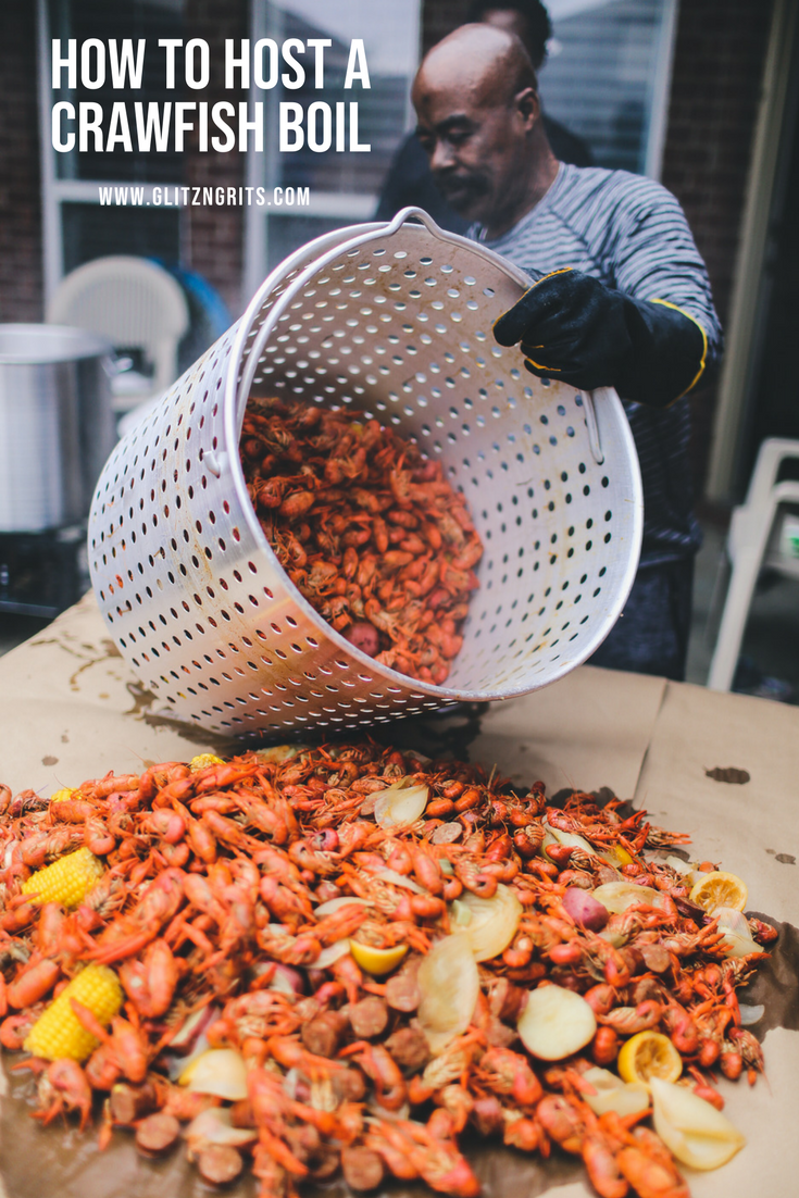 How to Host a Crawfish Boil