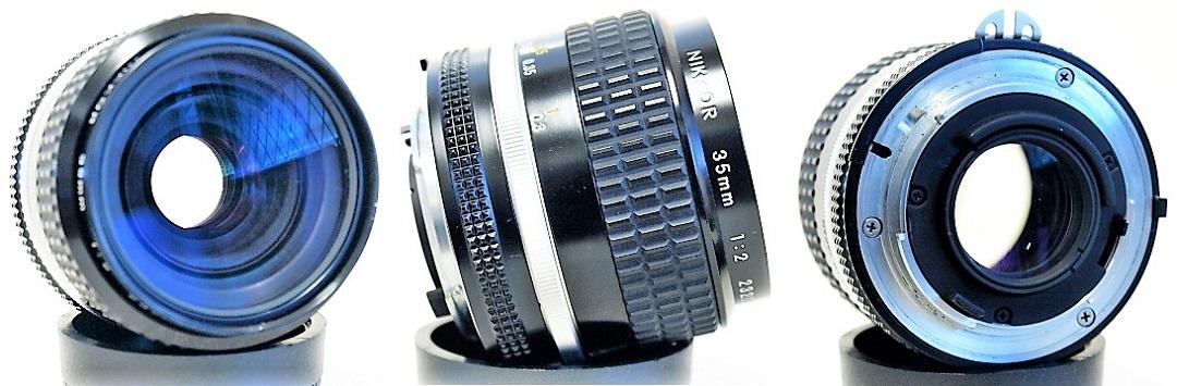Nikon Nikkor Ai-S 35mm 1:2 #081