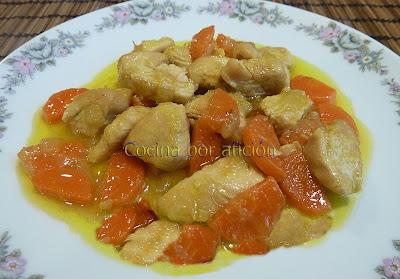 pechugas de pollo en salsa con miel