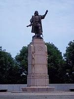 Columbus-statuen i Grant Park, Chicago. Lisens: Fri bruk