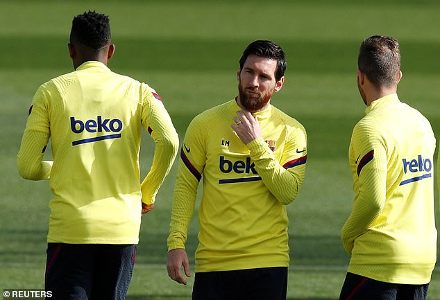 Lionel Messi among Barcelona players set to undergo tests for Coronavirus today