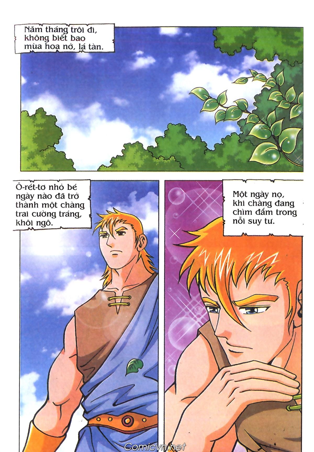 Thần Thoại Hy Lạp Màu - Chapter 70: Nàng Ê lếch tơ - Pic 30