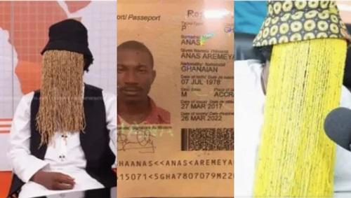 Popular Investigative Journalist, Anas Aremeyaw Exposed #Arewapublisize