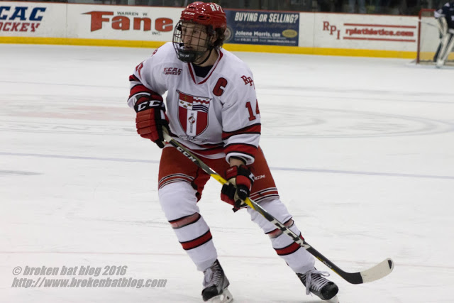 Former RPI Engineers Bourbonnais & Reno Join The Ranks of Pro Hockey