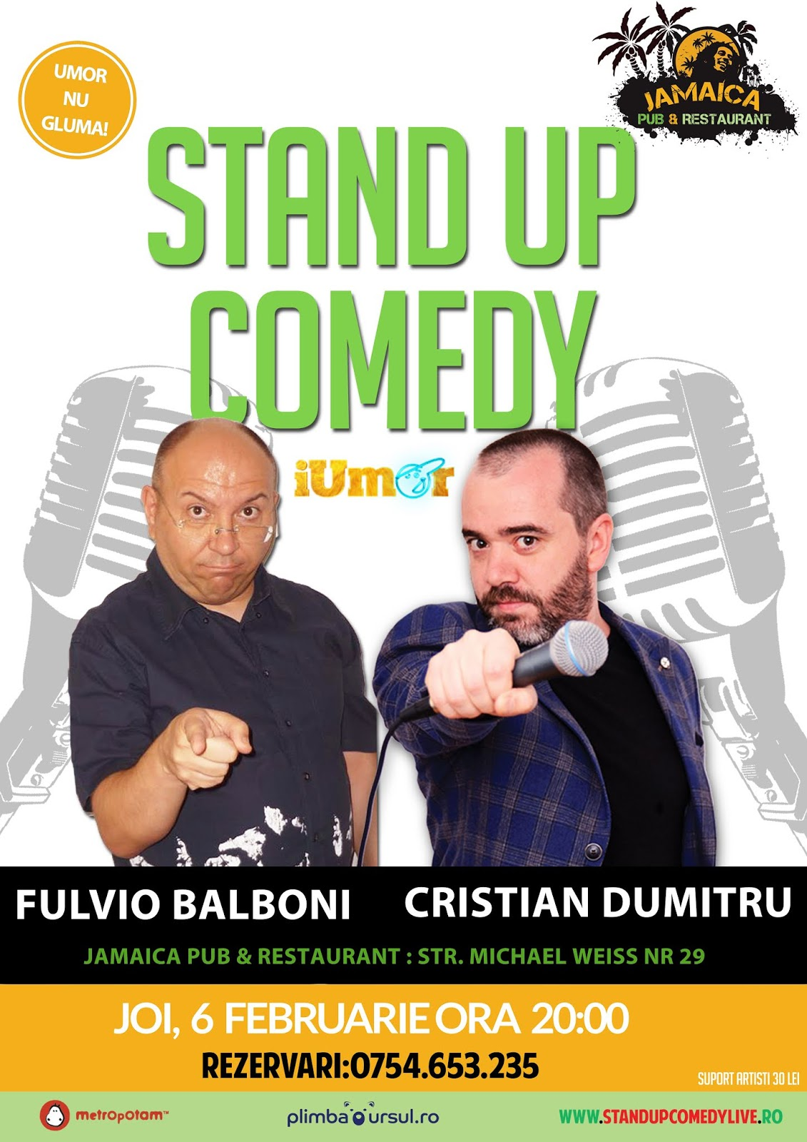 Stand Up Comedy Brasov Februarie 2020