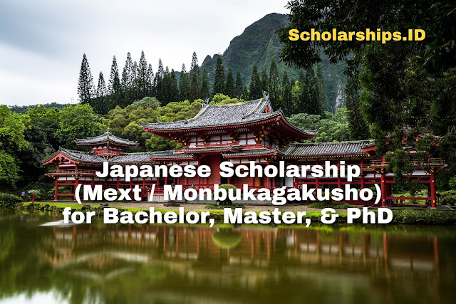 Japanese Scholarship (MEXT / Monbukagakusho) for Bachelor, Masters & PhD
