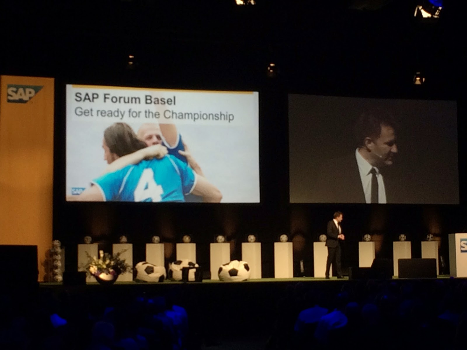 DigitalEkho CIO: 'Speaking today at @SAP Forum Basel'