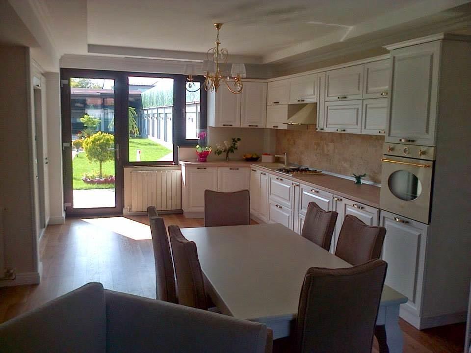 Design interior bucatarie casa stil clasic Constanta - Amenajari Interioare / Arhitect Constanta