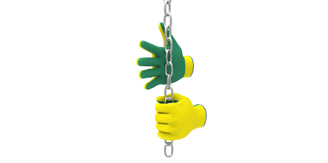 Gloves with chain 3d model free download obj,maya,low poly