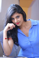 Telugu Actress Mounika UHD Stills in Blue Short Dress at Tik Tak Telugu Movie Audio Launch .COM 0166.JPG