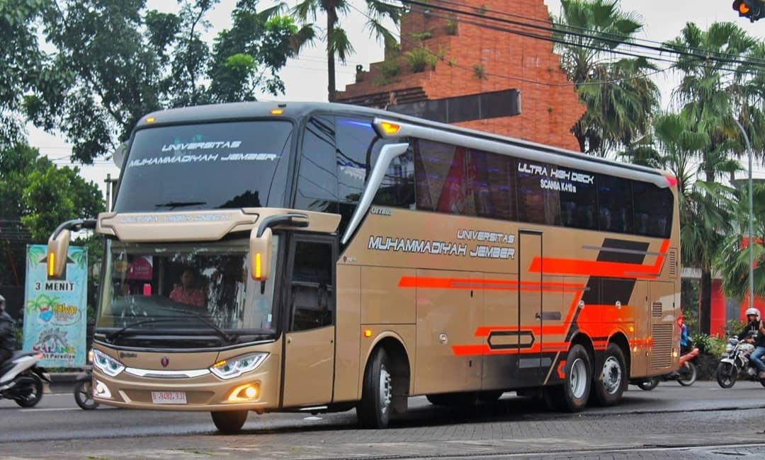 Universitas Muhammadiyah Jember Luncurkan Bus Kampus Jetbus