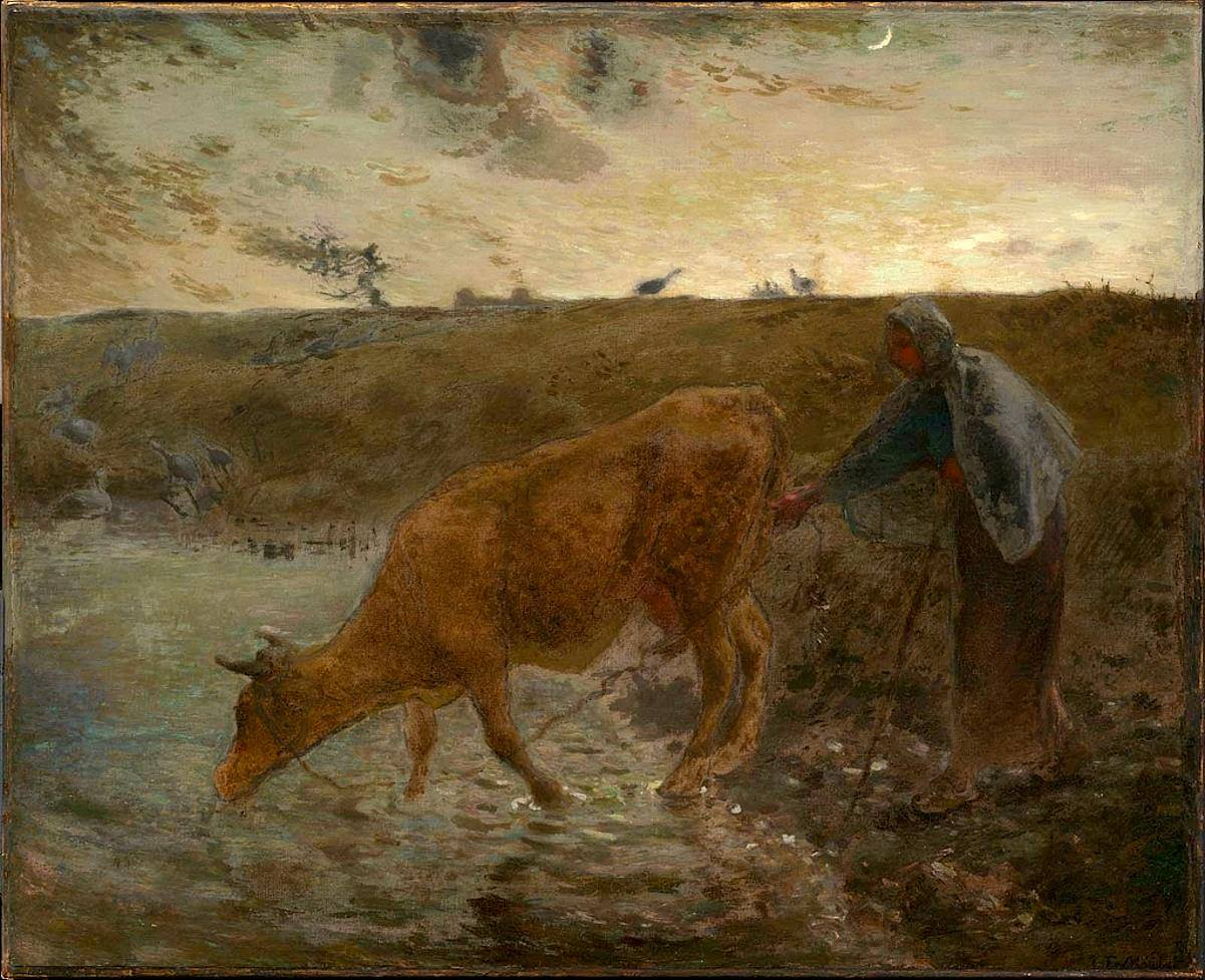 Jean-François Millet | Realist painter | Tutt'Art@ | Pittura ...