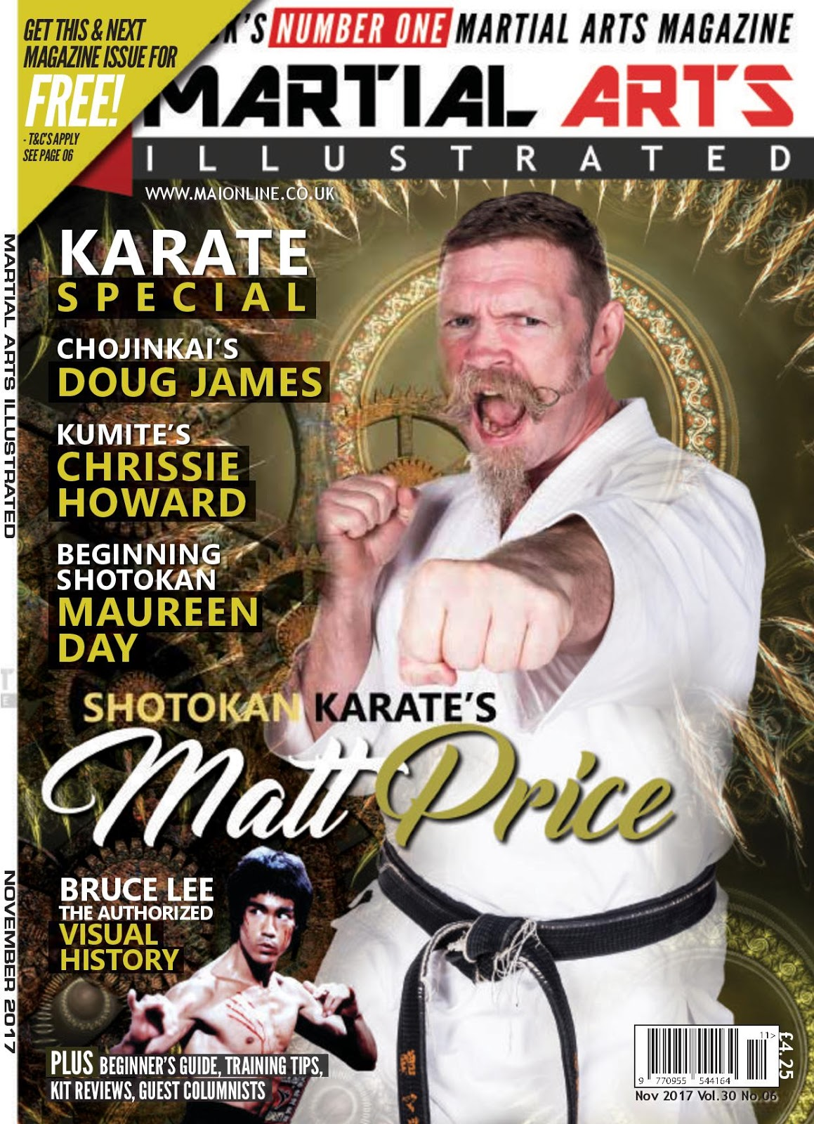 Martial Arts Illustrated November 2017 Free Library Official