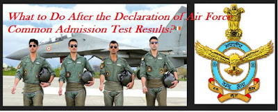 Air Force Common Admission Test Results declare-what to do now
