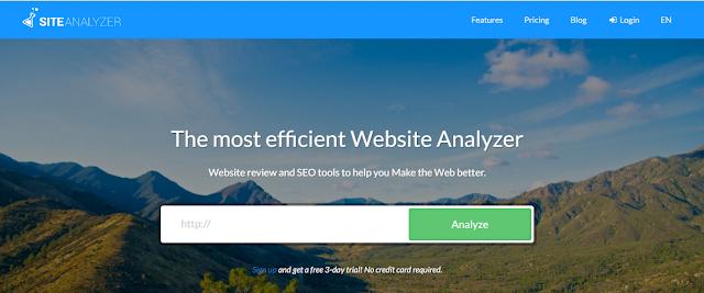 Site-analyzer sladar.com
