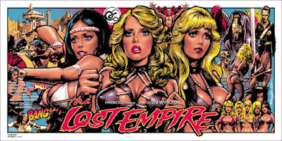 MondoCon 2015 Exclusive The Lost Empire Screen Print by Rockin' Jelly Bean x Mondo