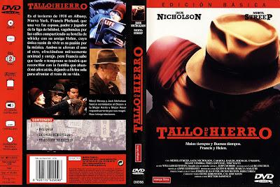 Carátula dvd: Tallo de hierro (1987) Ironweed