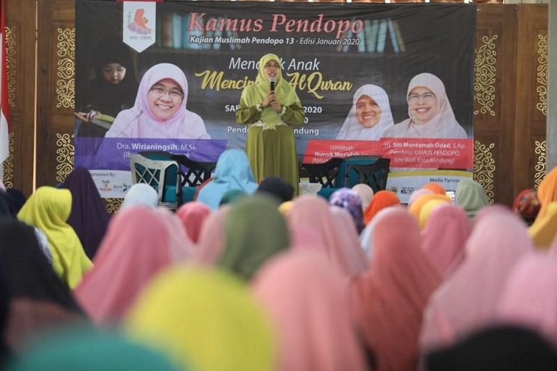 Awali Kamus Pendopo 2020, Siti Tititpkan Bandung Sehat Tanpa Stunting