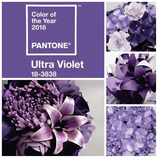 Buquê violeta