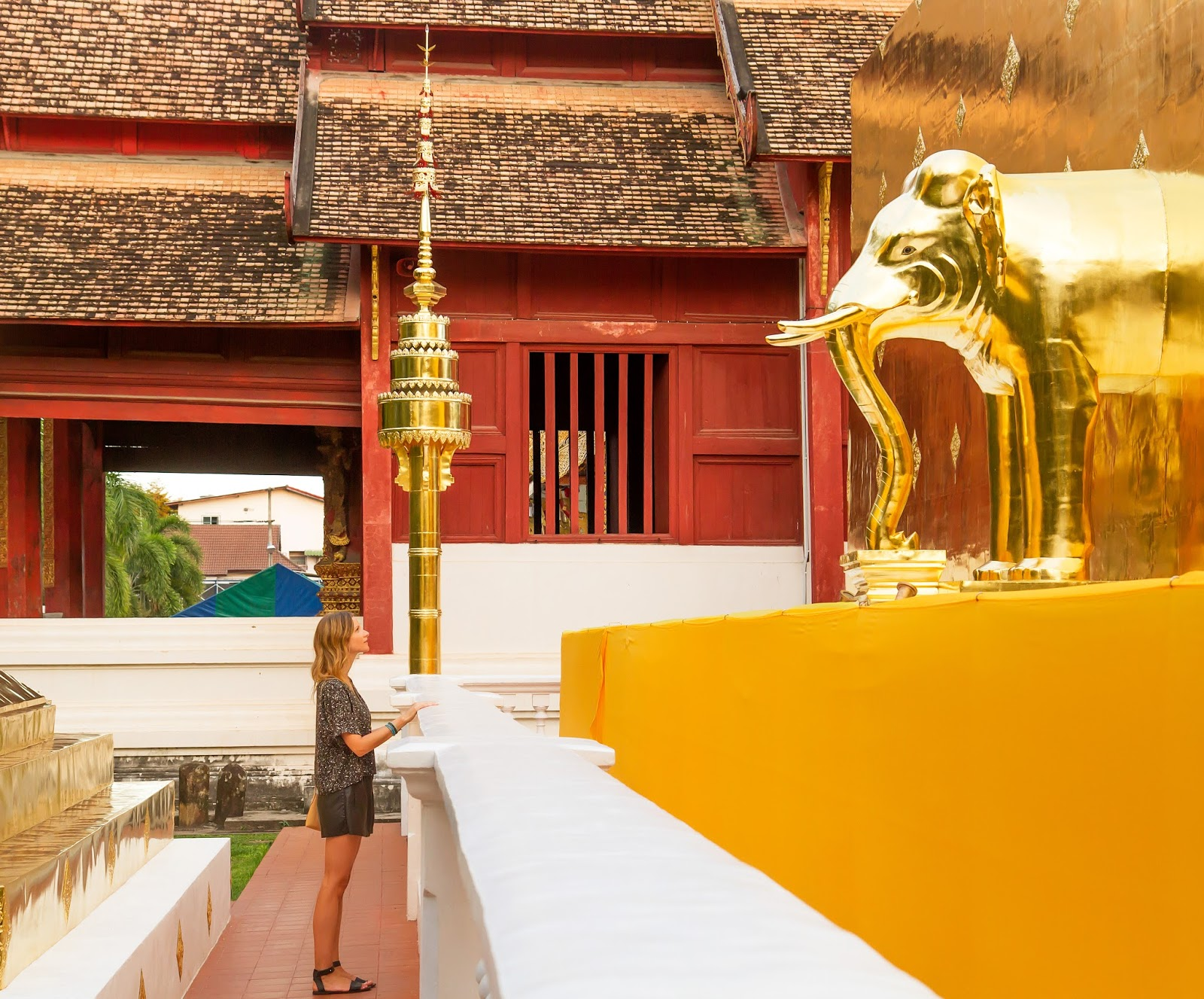 Wat Phra Singh Temple, Chiang Mai Thailand, Alison Hutchinson