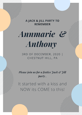 jack and jill party - wedding ideas - wedding planning - budget planning - K'Mich Weddings and Events - Philadelphia PA