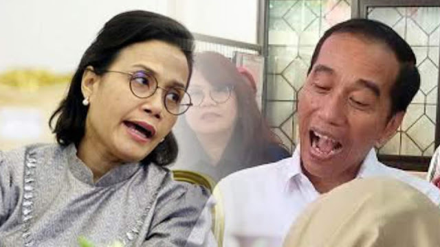 Sri Mulyani Saja Sudah Tidak Percaya Jokowi, Apalagi Rakyat?