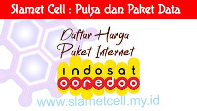 daftar harga paket internet indosat
