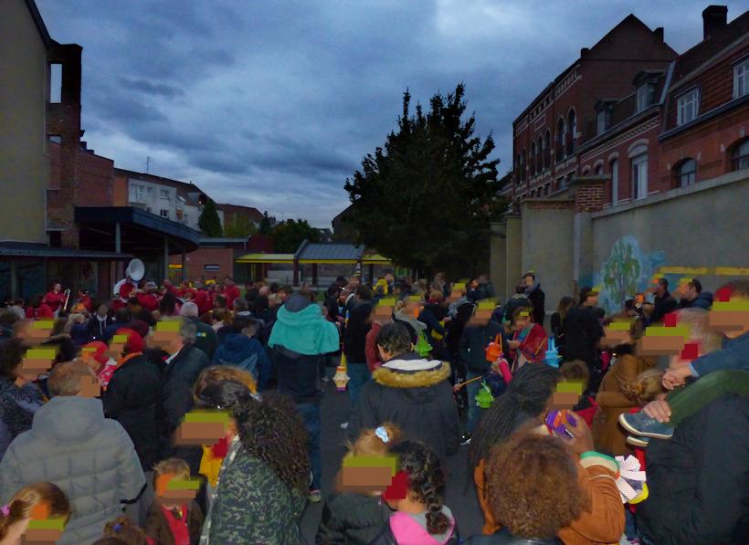 Allumoirs Tourcoing 2019 - Rassemblement école primaire CNDI
