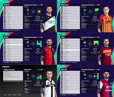 PES 2021 Facepack Serie A Vol 9