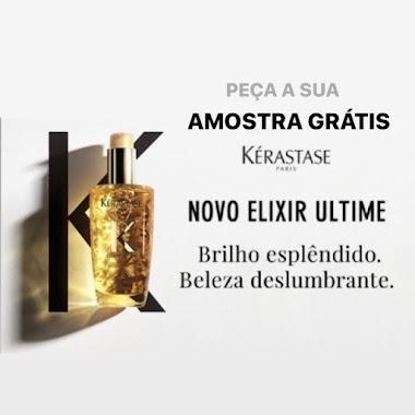 Amostras Grátis -  Kérastase  Novo Elixir Ultimate