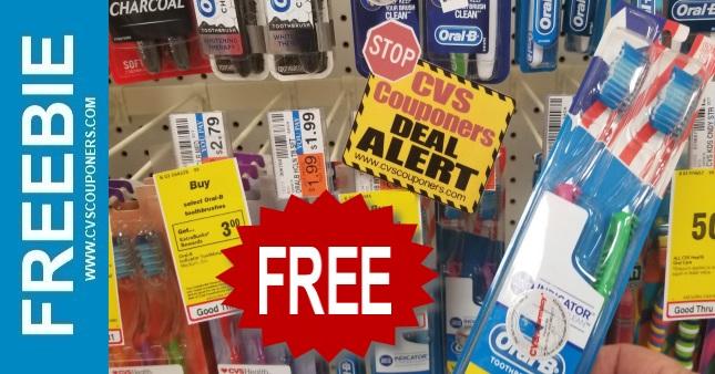 FREE Oral-B Toothbrush CVS Deal 1-12-1-18