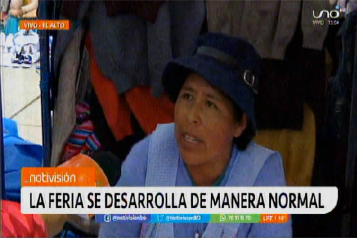 VIDEO: Vendedora de la 16 de julio no sigue protocolos y dice no tener miedo al contagio