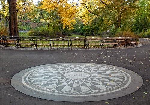 Strawberry Fields Central Park em Nova York