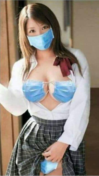 Мемы COVID-19. Медсестра из КНР 2020 год
