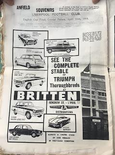 Brittens Liverpool 1965 advert