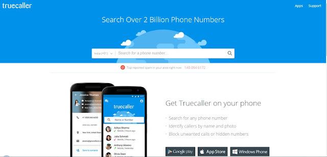 Cara Melacak Lokasi Nomor Telepon Nama dan Alamat - Truecaller 1 1