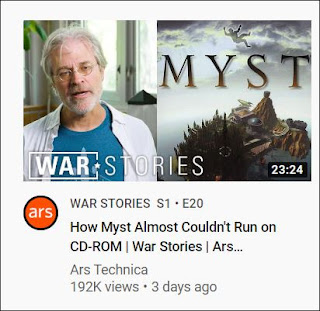 Myst YouTube Recommended Video